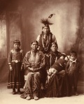 Sauk_Indian_family_by_Frank_Rinehart_1899