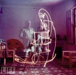 picasso- Light painting 2