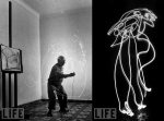 picasso- Light painting 5
