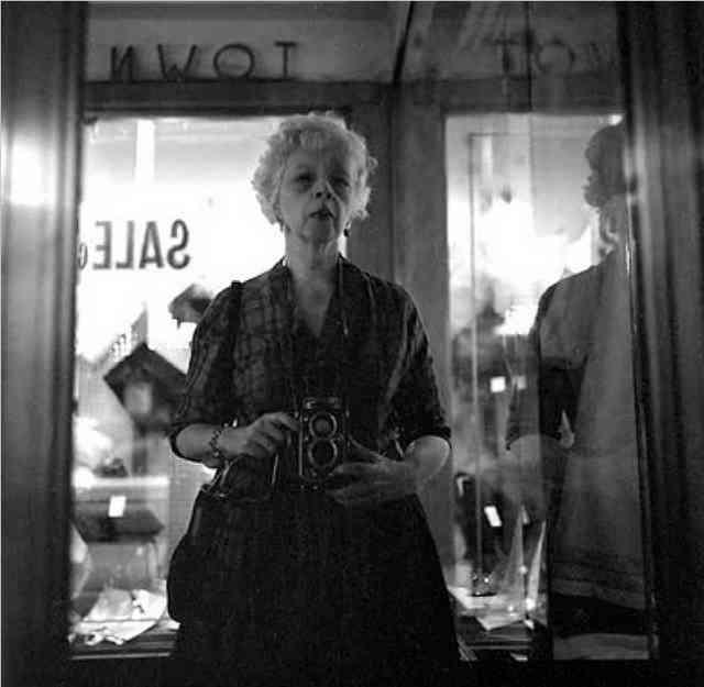 Lisette Model     Self-portrait, New York City     Undated
