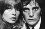 Terry O'Neill _Jean Shrimpton and Terence Stamp