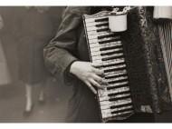 Accordionist+NY,+1948.