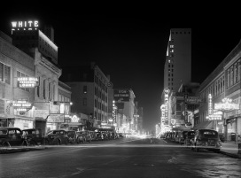 Arthur_Rothstein,_Night_view,_downtown_Dallas,_Texas,_1942