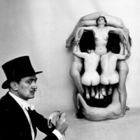 Behind The Scenes with Salvador Dali by Philippe Halsman